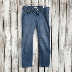 Hollister Distressed Skinny Low-Rise Jeans  9S